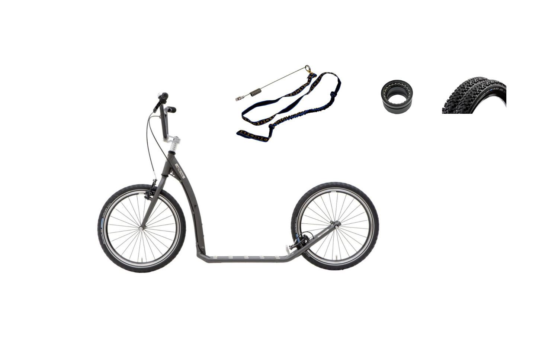Footbikes WA - Twenty Max G6 Grey option