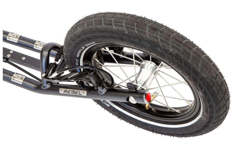 Footbikes WA Rebel Max G5 Grey Colour